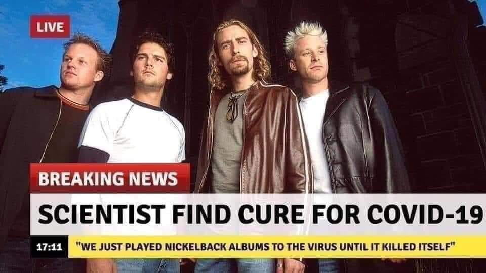 Nickelback fans are now getting catfished
