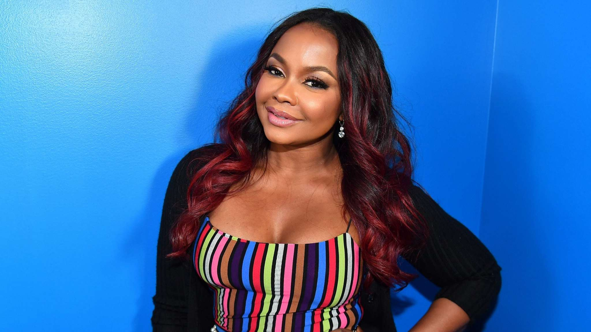 Phaedra Parks Looks Amazing In This Green Dress Check