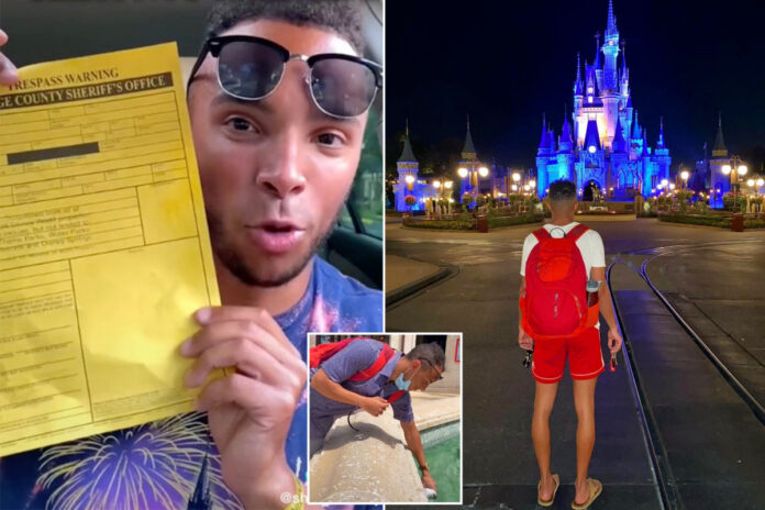 TikTok star claims Disney World issued him a 'lifetime ban'