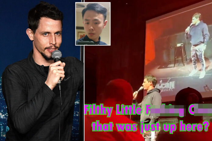 Tony Hinchcliffe dropped by agents after using Asian slur